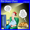 Cartoon: Gone to the dogs (small) by toons tagged covis,19,dogs,world,is,mess