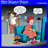 Cartoon: Having an affair (small) by toons tagged unfaithful,voicemail,affairs,pool,cleaner