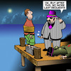 Cartoon: Last request (small) by toons tagged gangsters,hit,man,last,request,murder,mafia,cement,sandshoes