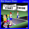 Cartoon: Lazy people (small) by toons tagged marathon,running,lazy,slacker,fun,run,racing,sport