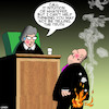 Cartoon: Liar liar (small) by toons tagged pants,on,fire,liar,judge,defendant,courtroom,justice,untruth,alternative,facts