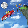 Cartoon: Losing me (small) by toons tagged auto,safety,mobile,phones