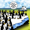 Cartoon: Maybe we are all gay (small) by toons tagged penguins,gay,animals,arctic