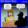 Cartoon: Medical cannabis (small) by toons tagged medical,marijuana,rastafarian,cannabis,hippy
