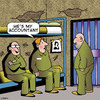 Cartoon: My Accountant (small) by toons tagged accountant,jail,lawyers,prison