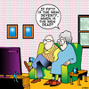 Cartoon: new dead (small) by toons tagged ageing,pensioner,old,people,death