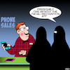 Cartoon: New iPhones (small) by toons tagged iphone,burka,facial,recognition,apps,smartphones