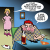 Cartoon: New years resolutions (small) by toons tagged happy,new,year,alcohol,abstinance,alcoholic,resolution
