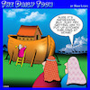 Cartoon: Noahs ark (small) by toons tagged carpenters,ark,shelving