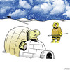 Cartoon: oops (small) by toons tagged tortise,igloo,eskimo,turtle