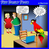 Cartoon: Parrot (small) by toons tagged porn,websites,parrot,repeating
