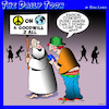Cartoon: Peace on earth (small) by toons tagged good,will,to,men,peace,on,earth,apps,bible,sayings,sign,placard,carrying,gen
