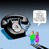Cartoon: Phone ancestors (small) by toons tagged telephones,old,phones,mobile,smart,large,history