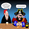 Cartoon: Piercings (small) by toons tagged ears,pierced,buccaneer,pirates,body,art