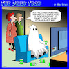 Cartoon: Poltergeist (small) by toons tagged ghosts,men,spirits,mother,in,laws,possessed