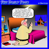 Cartoon: Prayers answered (small) by toons tagged deity,prayers,quality,control,your,call,recordered,training,purposes