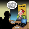 Cartoon: Retirement planning (small) by toons tagged accountant,retirement,planning,retirees,old,age,financial,advice