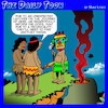 Cartoon: Sacrifice a virgin (small) by toons tagged human,sacrifice,virginity,natives,pagans