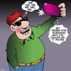 Cartoon: Selfie (small) by toons tagged selfies,iphone,smartphone,photography,photo,narcissam,self,absorbed