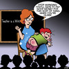 Cartoon: Spanking (small) by toons tagged teachers,spanking,fetish,smacking,students