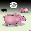 Cartoon: Sugar daddy (small) by toons tagged piggy,bank,sugar,daddy,pigs