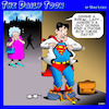 Cartoon: Superman changing (small) by toons tagged superman,naked,phone,box,booth,super,hero