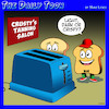 Cartoon: Tanning salon (small) by toons tagged toaster,bread,tanning,salon,settings