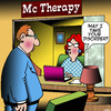 Cartoon: Therapy (small) by toons tagged mcdonalds,therapy,fast,food,psychiatrist