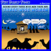 Cartoon: Three wise men (small) by toons tagged behind,every,man,wise,men,women,bethlehem,jesus,mary,and,joseph,uber,manger