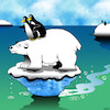 Cartoon: Titanic (small) by toons tagged jack,and,rose,polar,bears,penguins,titanic,melting,ice,caps