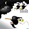 Cartoon: Turbulance (small) by toons tagged witches,turbulance,flying,magic,air,travel
