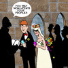 Cartoon: Update profile (small) by toons tagged weddings,update,status,facebook,profile,smartphone