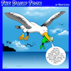 Cartoon: Vegan diet (small) by toons tagged seagulls,vegetarians,vegan,healthy,diet,fish