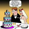 Cartoon: Wedding cake (small) by toons tagged wedding,cake,stripper,jump,out,of