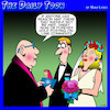 Cartoon: Wedding ceremony (small) by toons tagged twitter,post,online,marriage,vows