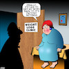 Cartoon: Weight loss (small) by toons tagged factory,settings,weight,loss,clinic,obesity,diet,fat,overweight,epidemic