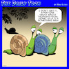 Cartoon: Work from home (small) by toons tagged snails,working,from,home,latest,fads,new,normal