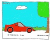 Cartoon: 3 sec (small) by Müller tagged sec,sportwagen,pkw,automobil,baum