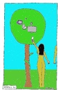 Cartoon: GENESIS 3.0 (small) by Müller tagged paradies,baum,sünde,eva,adam,paradise,tree,sin,eve,apple