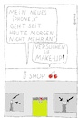 Cartoon: I-Phone X (small) by Müller tagged iphone,handy,phone,mobile,apple