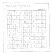 Cartoon: Macho-Sudoku (small) by Müller tagged sudoku,macho,sex