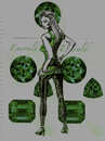 Cartoon: AGENT EMERALD (small) by Toonstalk tagged agent,sexy,emerald,id,catsuit