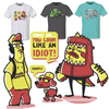 Cartoon: fashion victims (small) by bkopf tagged bkopf,shirt,look,like,an,idiot,yellow,pink,fashion
