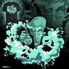 Cartoon: magical smoke (small) by bkopf tagged bkopf,tshirt,dr,prof,magic,smoke