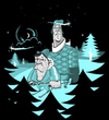 Cartoon: winter wonderlnad (small) by bkopf tagged bkopf,winter,wonder,land,vector