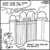 Cartoon: Blogger in Heaven (small) by Piero Tonin tagged piero,tonin,blog,blogs,blogger,bloggers,social,network,networks,internet,dead,death,heaven,pearly,gates,god,afterlife,paradise,religion,religions,catholic,catholics,catholicism