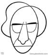 Cartoon: Franco Battiato (small) by Piero Tonin tagged franco,battiato,music,musician,pop,portrait,caricature,stylized,italian,italy,minimal,minimalism,piero,tonin,portraits,caricatures
