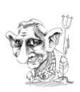 Cartoon: Antichsit Superstar Ratzinger (small) by Fredy tagged ratzinger,catholics,vatican