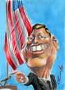 Cartoon: John F. Kennedy (small) by Fredy tagged john,fitzgerald,kennedy,president,usa
