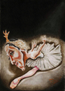Cartoon: Maya Plisetskaya (small) by Fredy tagged ballerina ballet art dance